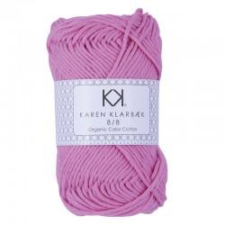 8/8 Light Pink - KK Color Cotton økologisk bomuldsgarn fra Karen Klarbæk