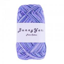 Lys blå mix - 8/4 Multifarvet bomuldsgarn