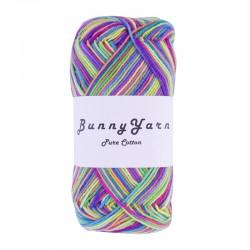 Regnbue mix - 8/4 Multifarvet bomuldsgarn