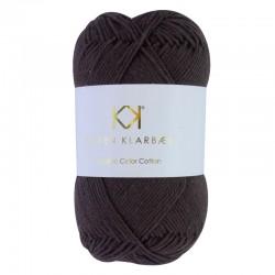 8/4 Chocolate Brown - KK Color Cotton økologisk bomuldsgarn fra Karen Klarbæk