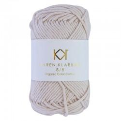 8/8 Nude - KK Color Cotton økologisk bomuldsgarn fra Karen Klarbæk