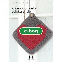 """Hæklebog """"Karen Klarbæks Julekalender"""" - E-BOG"""