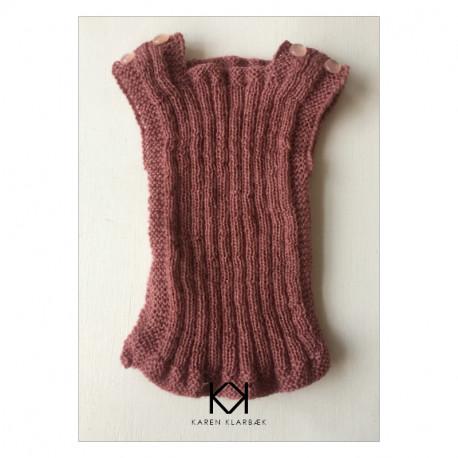 Babyundertrøje Opskrift opskrift på strikket babyundertrøje (str. 50-56) - e-opskrift