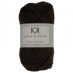 Mørk gråbrun - KK Color Cotton økologisk bomuldsgarn fra Karen Klarbæk