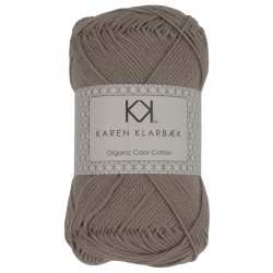 Lys gråbrun - KK Color Cotton økologisk bomuldsgarn fra Karen Klarbæk
