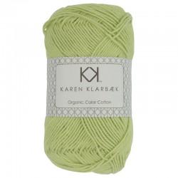 Lys grøn - KK Color Cotton økologisk bomuldsgarn fra Karen Klarbæk