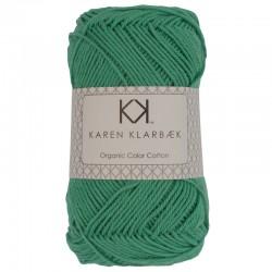Mørk mint - KK Color Cotton økologisk bomuldsgarn fra Karen Klarbæk