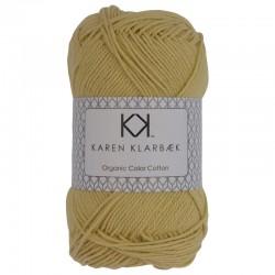 Pastel Yellow - KK Color Cotton økologisk bomuldsgarn fra Karen Klarbæk