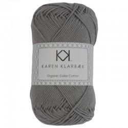 Cool Grey - KK Color Cotton økologisk bomuldsgarn fra Karen Klarbæk