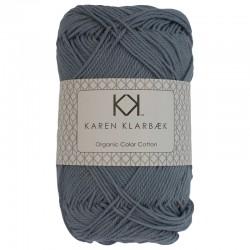 Faded Jeans Blue - KK Color Cotton økologisk bomuldsgarn fra Karen Klarbæk