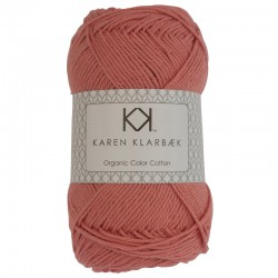 Light Brick Red - KK Color Cotton økologisk bomuldsgarn fra Karen Klarbæk