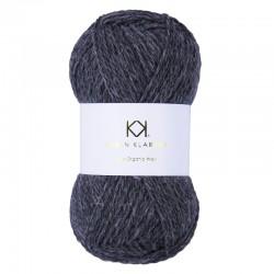 Dark Grey Melange - KK Pure Organic Wool - økologisk uldgarn fra Karen Klarbæk
