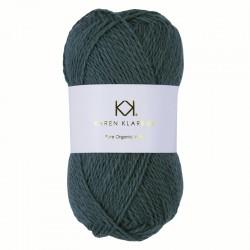 Sea Green - KK Pure Organic Wool - økologisk uldgarn fra Karen Klarbæk