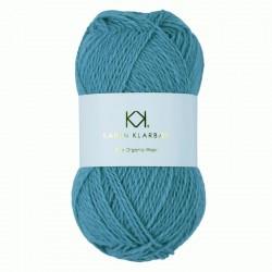 Aqua Blue - KK Pure Organic Wool - økologisk uldgarn fra Karen Klarbæk
