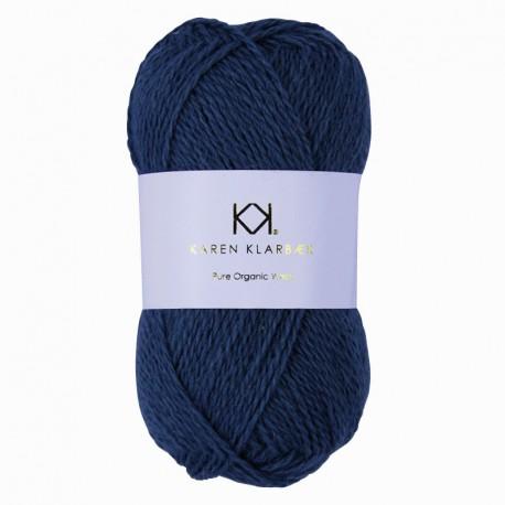 Jeans Blue - KK Pure Organic Wool - økologisk uldgarn fra Karen Klarbæk
