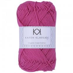 8/4 Hot Pink - KK Organic Color Cotton økologisk bomuldsgarn fra Karen Klarbæk