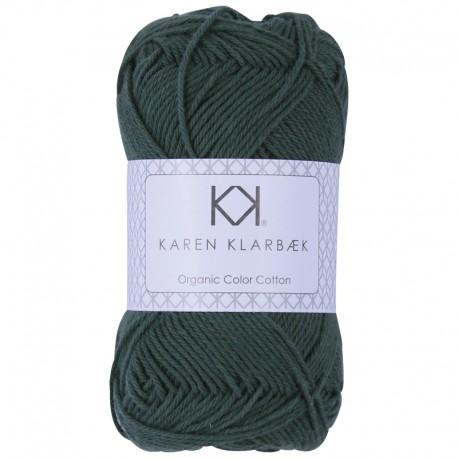 8/4 Pine Green - KK Color Cotton økologisk bomuldsgarn fra Karen Klarbæk