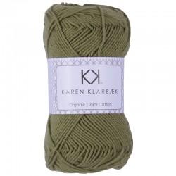 8/4 Warm Olive - KK Color Cotton økologisk bomuldsgarn fra Karen Klarbæk
