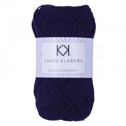 8/4 Dark Lilac - KK Color Cotton økologisk bomuldsgarn fra Karen Klarbæk