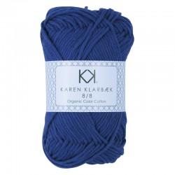 8/8 Dark Lavender - KK Organic Color Cotton økologisk bomuldsgarn fra Karen Klarbæk