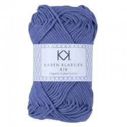 8/8 Lavender - KK Organic Color Cotton økologisk bomuldsgarn fra Karen Klarbæk