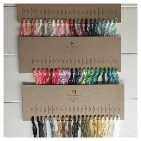 Farvekort på 8/4 KK Organic Color Cotton