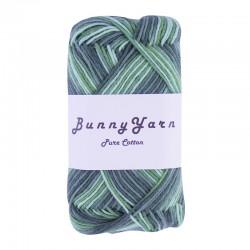 Grøn mix - 8/4 Multifarvet bomuldsgarn