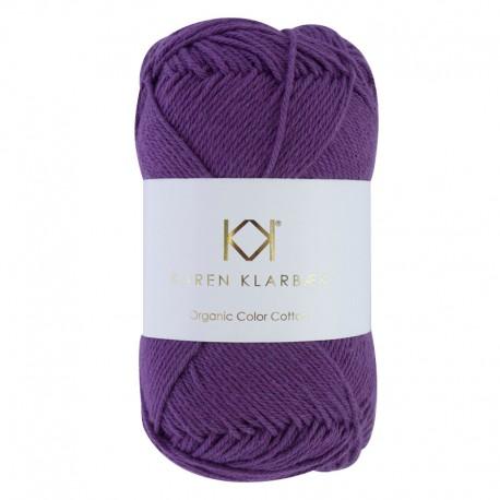 8/4 Purple Passion - KK Color Cotton økologisk bomuldsgarn fra Karen Klarbæk