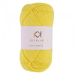 8/4 Sunshine - KK Organic Color Cotton økologisk bomuldsgarn fra Karen Klarbæk