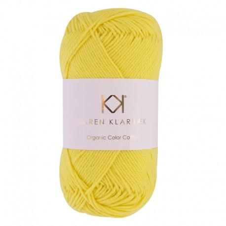 8/4 Sunshine - KK Color Cotton økologisk bomuldsgarn fra Karen Klarbæk
