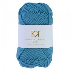 8/8 Medium Petrol Blue - KK Color Cotton økologisk bomuldsgarn fra Karen Klarbæk