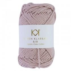 8/8 Dark Old Rose - KK Color Cotton økologisk bomuldsgarn fra Karen Klarbæk