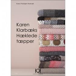 """Hæklebog """"Karen Klarbæks Hæklede Tæpper"""" - TRYKT BOG"""