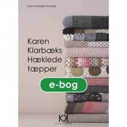 """Hæklebog """"Karen Klarbæks Hæklede tæpper"""" - E-BOG"""
