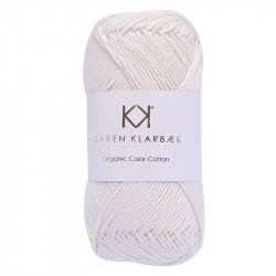 8/4 Ivory - KK Organic Color Cotton økologisk bomuldsgarn fra Karen Klarbæk