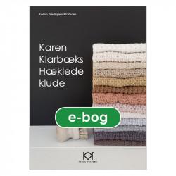 """Hæklebog """"Karen Klarbæks Hæklede klude"""" - E-BOG"""