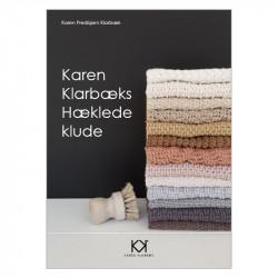 """Hæklebog """"Karen Klarbæks Hæklede klude"""" - TRYKT BOG"""