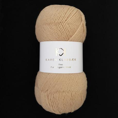 Golden - KK Fine Pure Organic Wool - økologisk uldgarn fra Karen Klarbæk