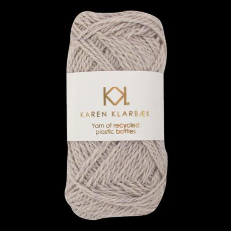 Light Grey - Recycled Bottle Yarn