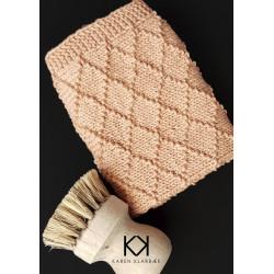 Opskrift på strikket Dominoklud - e-opskrift