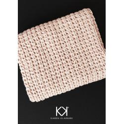 Opskrift på strikket klud i halvpatent - e-opskrift