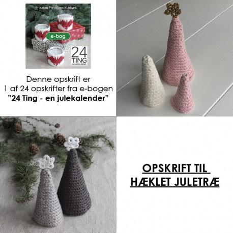 Opskrift på hæklet juletræ
