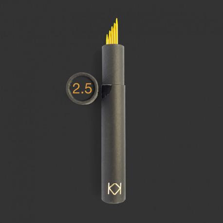 KK strømpepinde 5 stk. i rør, 2,5 mm