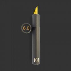 6,0 mm, KK strømpepinde 5 stk. i rør