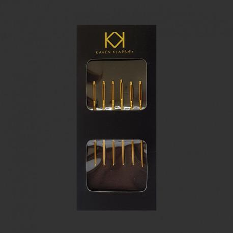 KK nåle i kuvert, 6 stk. - 4,8 cm