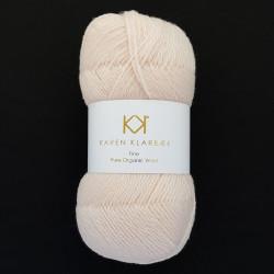 Nude - KK Fine Pure Organic Wool - økologisk uldgarn fra Karen Klarbæk
