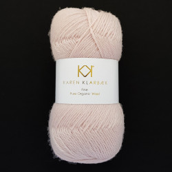 Old Rose - KK Fine Pure Organic Wool - økologisk uldgarn fra Karen Klarbæk