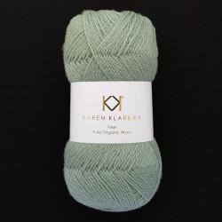 Sage Green - KK Fine Pure Organic Wool - økologisk uldgarn fra Karen Klarbæk