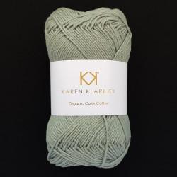 8/4 Sage Green - KK Organic Color Cotton økologisk bomuldsgarn fra Karen Klarbæk