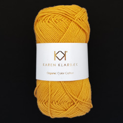8/4 Golden Curry - KK Color Cotton økologisk bomuldsgarn fra Karen Klarbæk